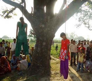 hromedia India Teen sisters allegedly gang-raped, hanged to death in Uttar Pradesh; Cops suspected intl. news2