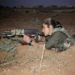 Kurdish woman leading Kobane battle against ISIS