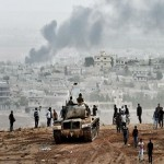 Kurds battle ISIS for heart of Kobane as UN fears massacre