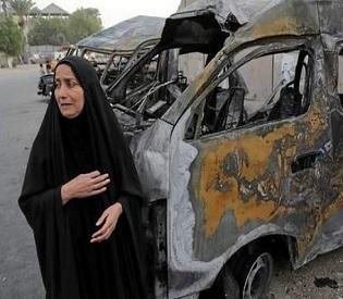 hromedia Triple bombing in northern Iraq kills at least 58 people arab uprising4