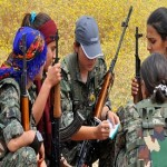 Women warriors who are terrifying ISIS jihadis in Koban