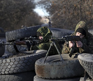 Three more Ukrainian soldiers killed as fighting rages in east