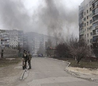 Fighting rages in Donetsk, 15 Ukrainian soldiers killed in past 24 hours